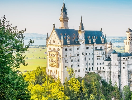 How to get a tax refund in Europe — Neuschwanstein Castle